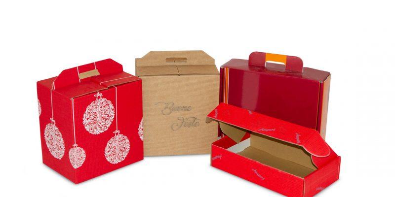 Cesti natalizi personalizzati per aziende: affidati a Carves Packaging